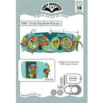 Karen Burniston - Circle Tag Book Pop-up Stanzen