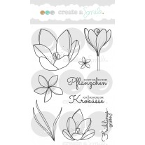Create A Smile - Kroküsse - Clear Stamps 4x6
