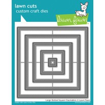 Lawn Fawn - Large Dotted Square Stackables - Stanzen