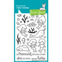Lawn Fawn - Mermaid For You - Clear Stamps 4x6