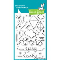 Lawn Fawn - Yay, Kites! - Clear Stamps 4x6