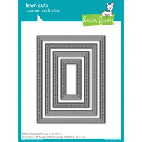 Lawn Fawn - Stitched Rectangle Frames - Stanzen