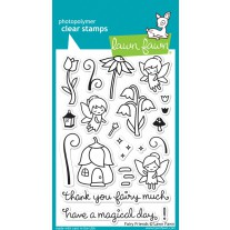 Lawn Fawn - Fairy Friends - Clear Stamps 4x6