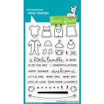Lawn Fawn - Little Bundle - Clear Stamps 4x6