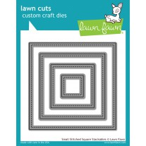 Lawn Fawn - Small Stitched Square Stackables - Stanzen