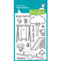 Lawn Fawn - Let's Play - Clear Stamps 4x6