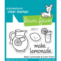 Lawn Fawn - Make Lemonade - Clear Stamps 2x3