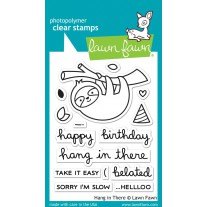 Lawn Fawn - Hang In There - Clear Stamps 3x4