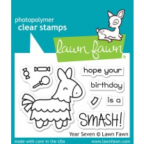 Lawn Fawn - Year Seven - Clear Stamps 2x3