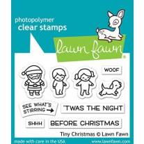 Lawn Fawn - Tiny Christmas - Clear Stamp 2x3