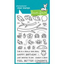 Lawn Fawn - a bug deal - Clear Stamp 4x6