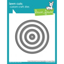 Lawn Fawn - Small Stitched Circle Stackables - Stanzen