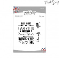 ModaScrap - Every Moment - Clear Stamps