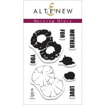 Altenew - Morning Glory 1 - Clear Stamps 2x3