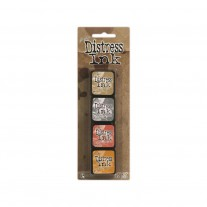 Ranger - Mini Ink Pad -  Tim Holtz Distress Ink Kit 7