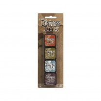 Ranger - Mini Ink Pad -  Tim Holtz Distress Ink Kit 8