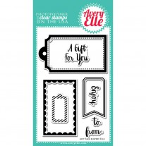 Avery Elle - Gift Tags - Clear Stamps 4x6