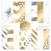 "Papermania - Cardstock 6x6"" - Modern Lustre"