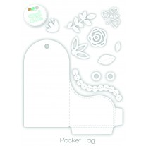 Create A Smile - Pocket Tag - Stanzen