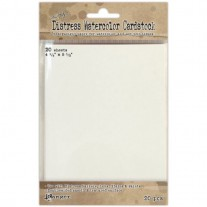 Tim Holtz Distress Watercolor Cardstock 4.25x5.5 20/Pkg