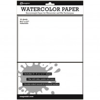 "Ranger Watercolor Paper 8.5""x11""10/pk"