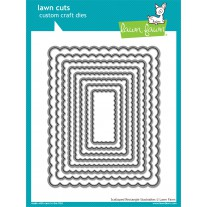 Lawn Fawn - Scalloped Rectangle Stackables - Stanzen