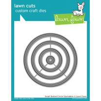 Lawn Fawn - Small Dotted Circle Stackables - Stanzen