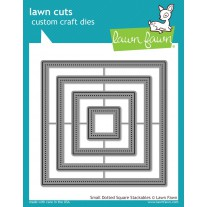 Lawn Fawn - Small Dotted Square Stackables - Stanzen