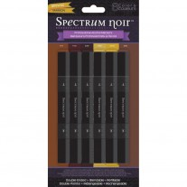 Spectrum Noir - Alcohol Markers 6pk - Brown