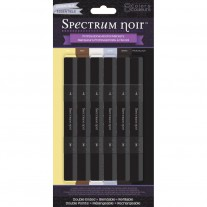 Spectrum Noir - Alcohol Markers 6pk - Essentials
