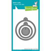 Lawn Fawn - Stitched Circle Tags - Stanzen