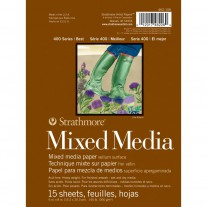 "Strathmore - Mixed Media - Paper Pad 6x8"" 15/Pkg"