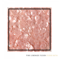 Studio Katia - Sequin Fusion - Pink Lemonade