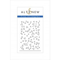Altenew - Tiny Tirangles - Clear Stamps 2x3