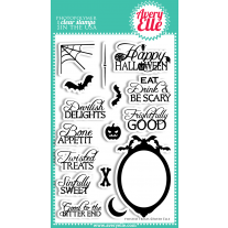 Avery Elle - Twisted Treats - Clear Stamps 4x6