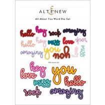 Altenew - All About You - Stand Alone Stanzen