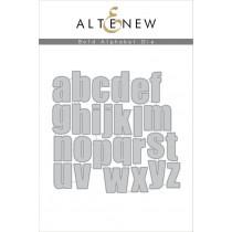 Altenew - Bold Alphabet - Stanze