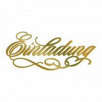 Couture Creations Hotfoil Stamp - Einladung