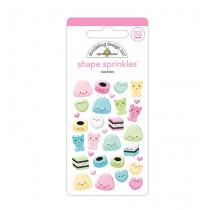 Doodlebug Sticker Shape Sprinkles Sweeties
