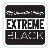 My Favorite Things - Extreme Black - Hybrid Ink Cube