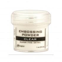 Ranger - Embossing Powder 1oz (16gr) - Super Fine Clear