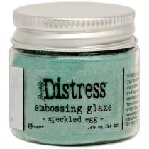 Tim Holtz - Ranger - Distress Embossing Glaze - Speckled Egg
