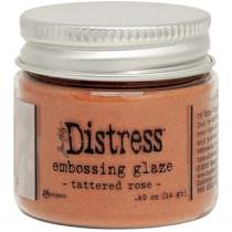 Tim Holtz - Ranger - Distress Embossing Glaze - Tattered Rose