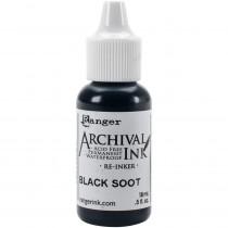 Tim Holtz Distress Archival Reinker - Black Soot