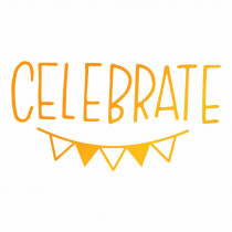 Ultimate Crafts - Celebrate Bunting -  Hotfoil Stamp