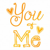 Ultimate Crafts - You and Me - Hotfoil Stamp