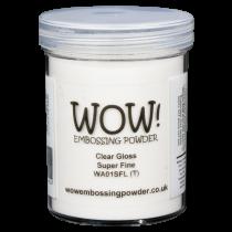 WOW! Embossing Powder - Clear Gloss Super Fine 160ml