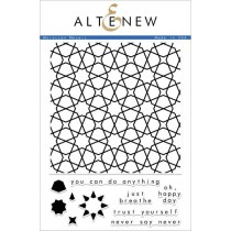 Altenew -  Moroccan Mosaic - Clear Stamps 6x8