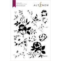 Altenew - Dainty Bouquet  - Clear Stamp 6x8