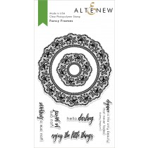 Altenew - Fancy Frames - Clear Stamp 4x6